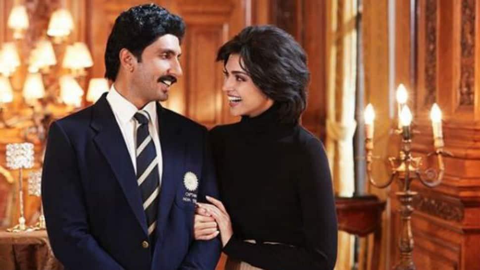 Bollywood news - '83: Presenting Deepika Padukone as Kapil Dev's wife Romi Dev in Ranveer Singh's film