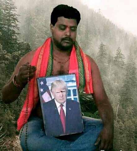 Bussa Krishna Trump fan