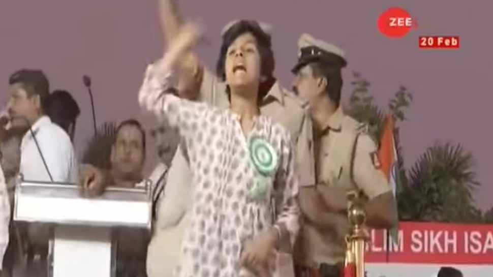 Amulya Leona's father says punish her for raising 'Pakistan zindabad' slogan