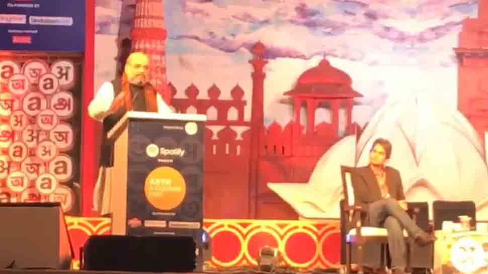 #IndiaKaArth: Amit Shah-Sudhir Chaudhary bonhomie enthralls audience at Arth festival thumbnail