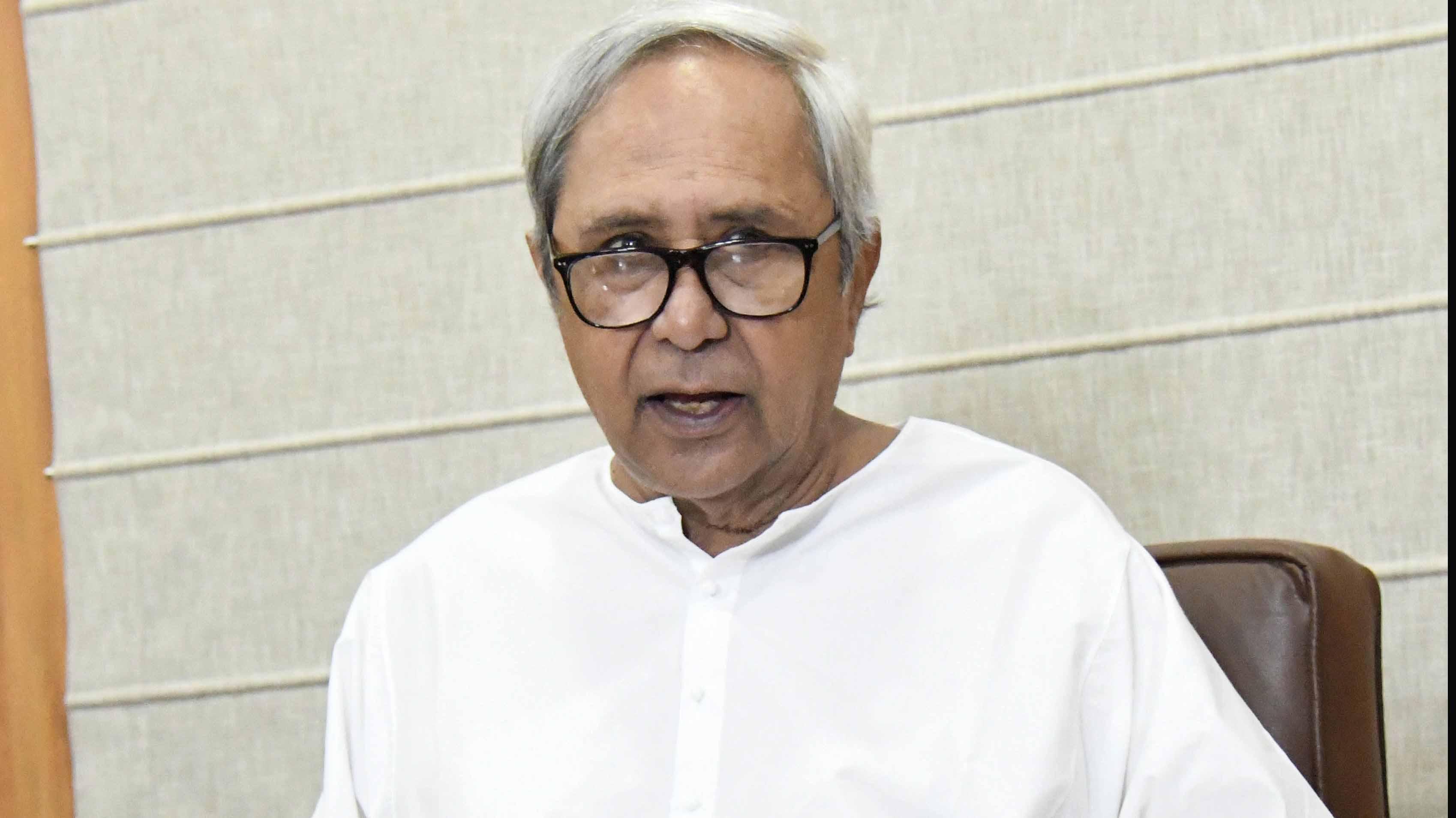 Odisha Chief Minister Naveen Patnaik files nomination for BJD President post