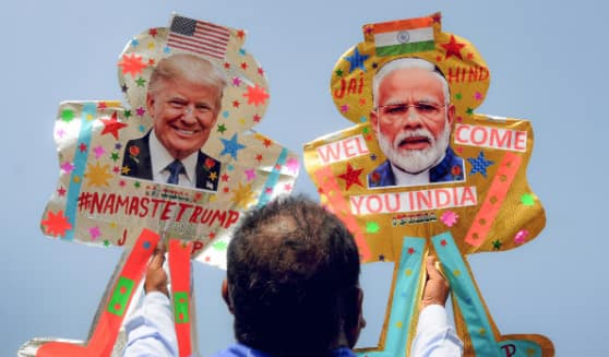 President Donald Trump to arrive in India today with family, address people at Motera Stadium