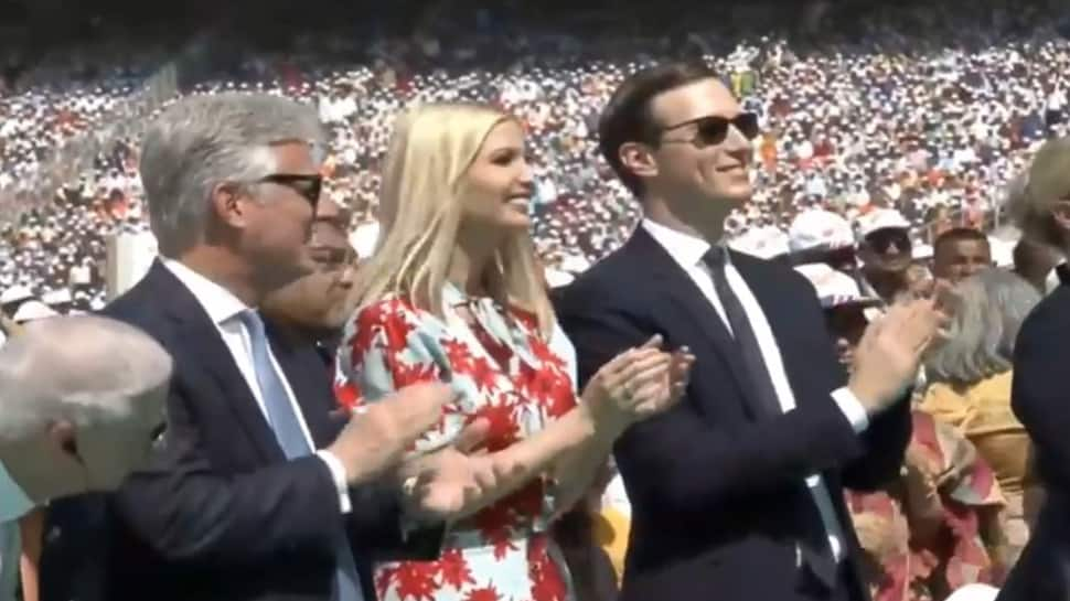 Spectacular: Ivanka Trump's reaction when asked if she enjoyed 'Namaste Trump' event