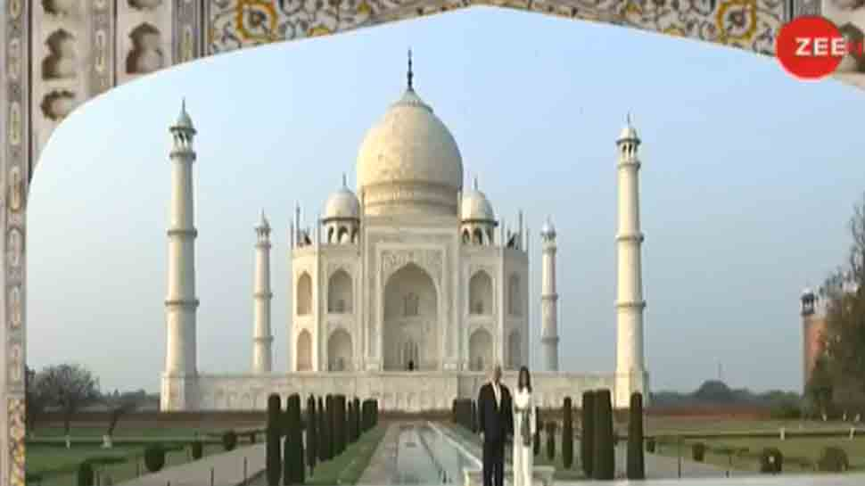 Taj Mahal a timeless testament to the rich and the diverse beauty of Indian culture, writes US President Donald Trump and First Lady Melania