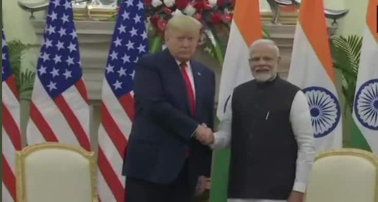 President Donald Trump praises PM Modi's popularity, says 'People love you here'