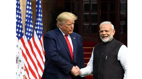 India-US sign three MoUs during President Trump's meeting with PM Modi