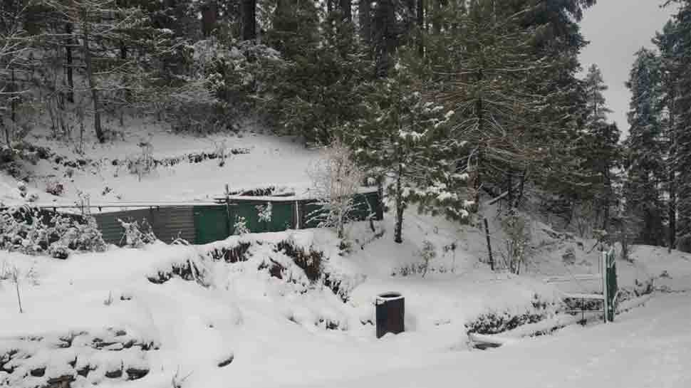 Himachal, Uttarakhand receives fresh snowfall