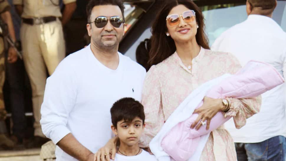 Shilpa Shetty and Raj Kundra bring baby Samisha home. See first pics