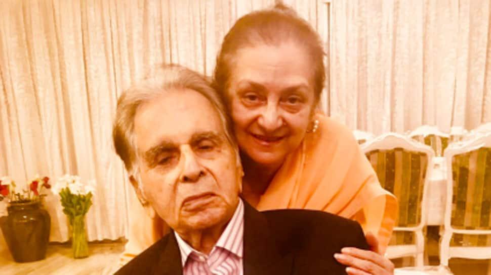Saira Banu gives Dilip Kumar's health update via Twitter audio post, says 'he's a lot better'