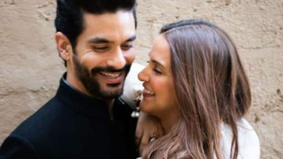 Neha Dhupia's husband Angad Bedi hits back at trolls with '5 girlfriends' post