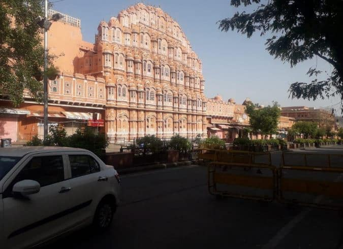 Lockdown in India due to corona