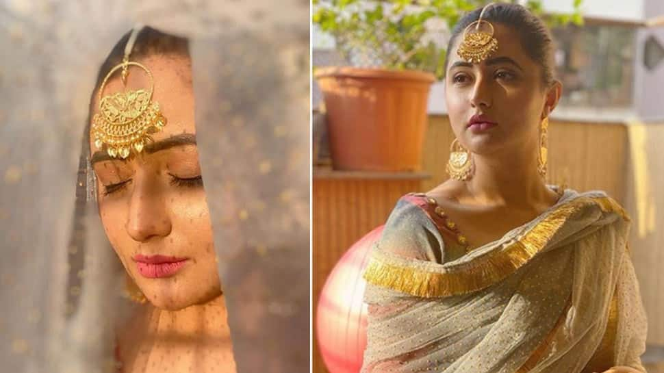 Entertainment News: Did you miss 'Bigg Boss 13' fame Rashami Desai's traditional look this Ram Navami? See pics
