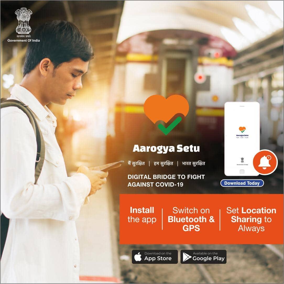 AarogyaSetu app on COVID-19