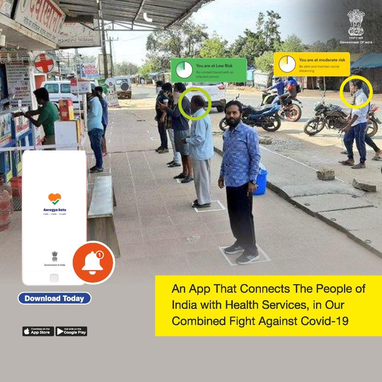 What is AarogyaSetu app