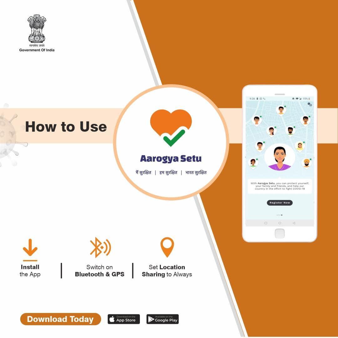 AarogyaSetu app on coronavirus