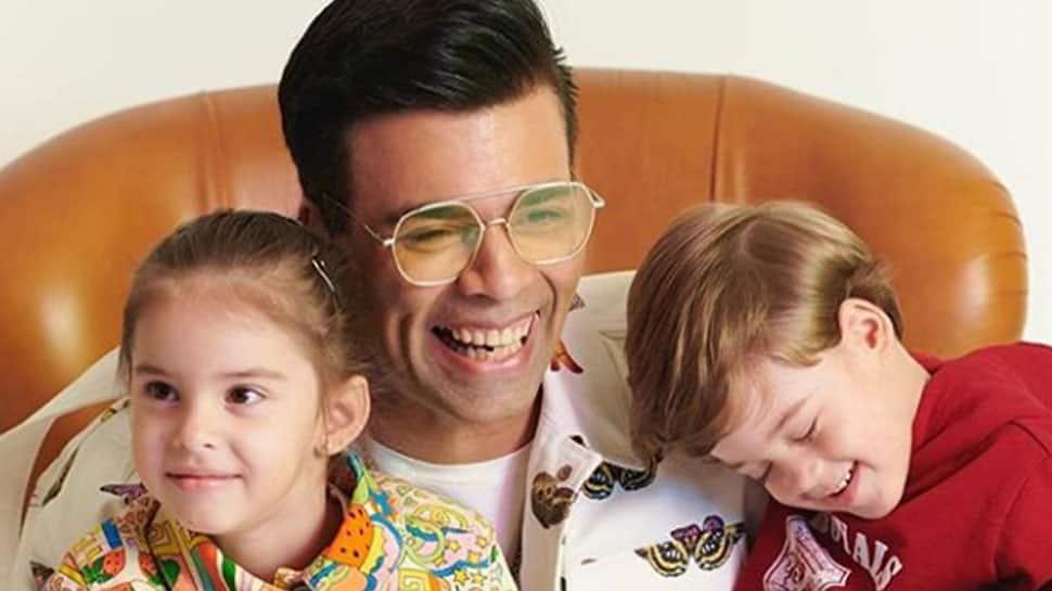 Bollywood news: Karan Johar's kids dislike his version of 'Channa Mereya in hilarious video