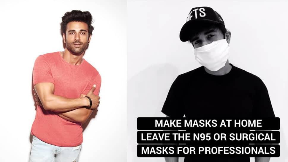 Coronavirus COVID-19: Pulkit Samrat urges fans to make masks at home, leave N95 masks for doctors and volunteers