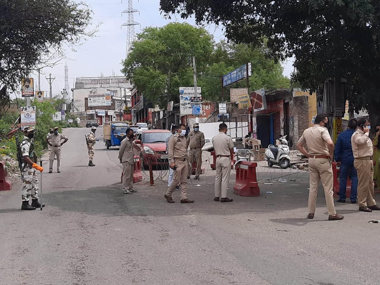 Lockdown in Jammu
