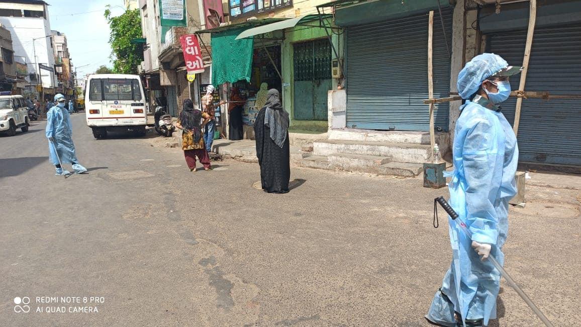 Ahmedabad on Day 26 of lockdown