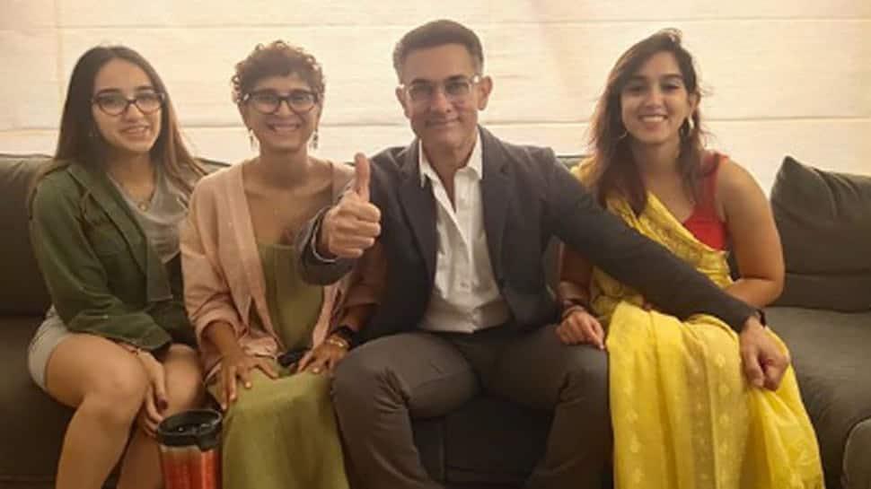 Aamir Khan, Kiran, dress up for niece Zayn's debut film, Ira Khan posts pic