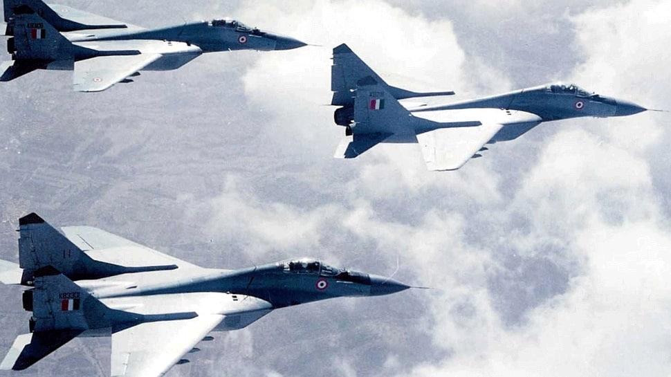 IAF MiG-29 fighter crashes in Punjab, pilot safe
