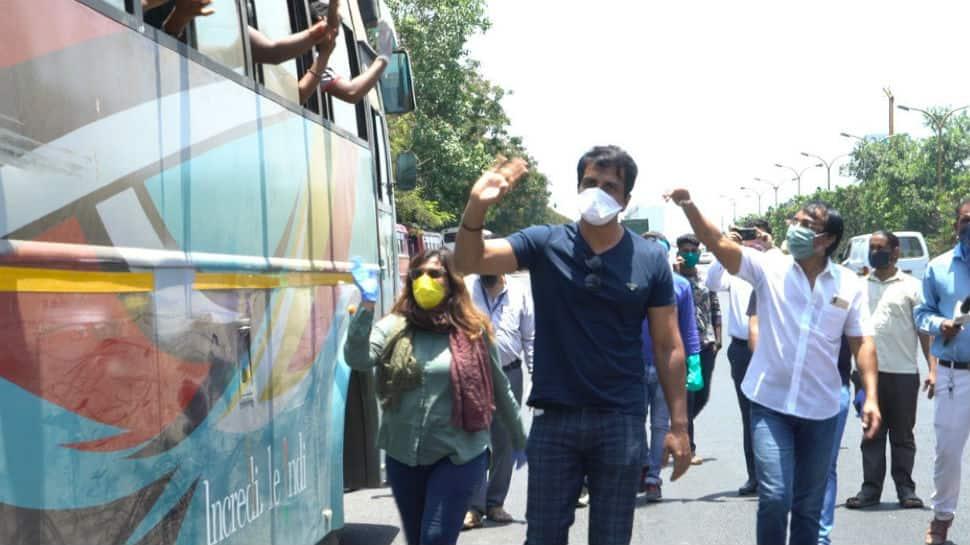 Sonu Sood arranges transport for stranded migrant workers amid ...
