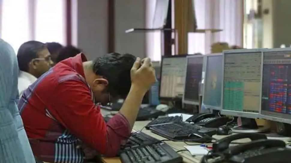 Sensex tanks over 1,000 points, Nifty slumps below 8,850