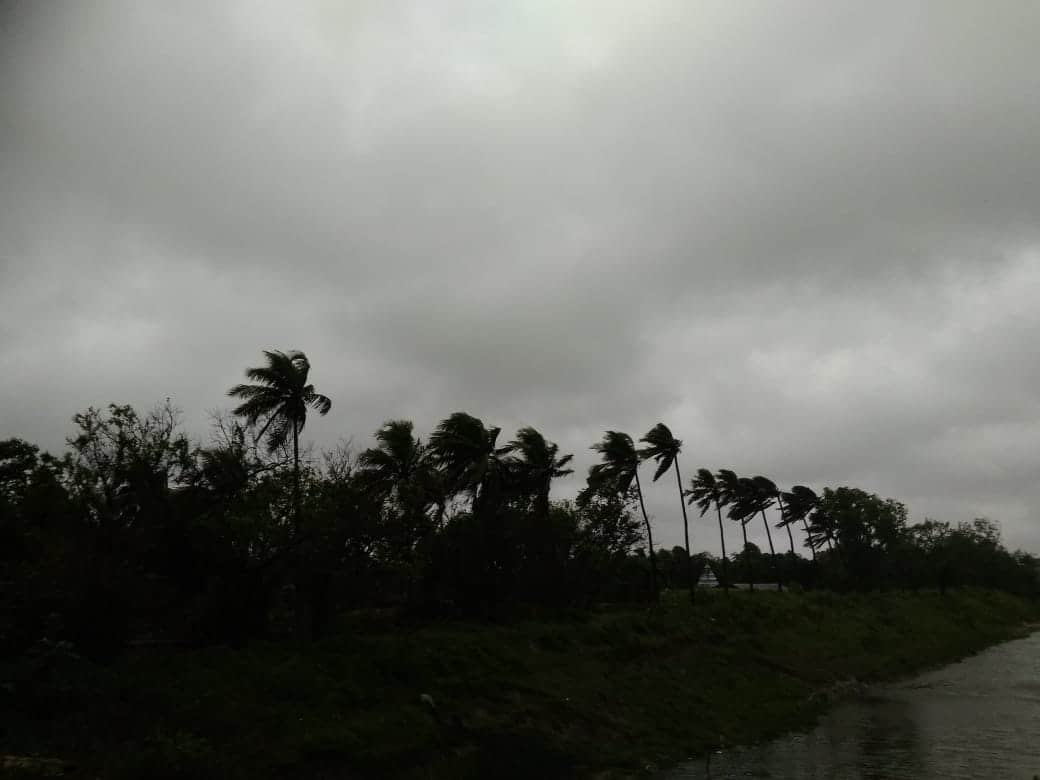 Cyclone Amphan in West Bengal