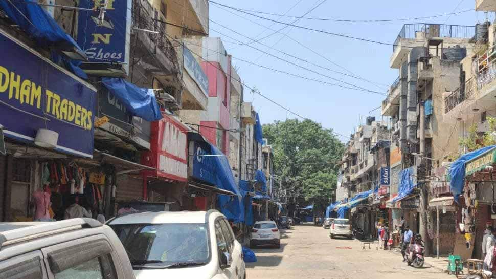 Delhi's Sarojini Nagar market opens after govt relaxes coronavirus COVID-19 lockdown rules