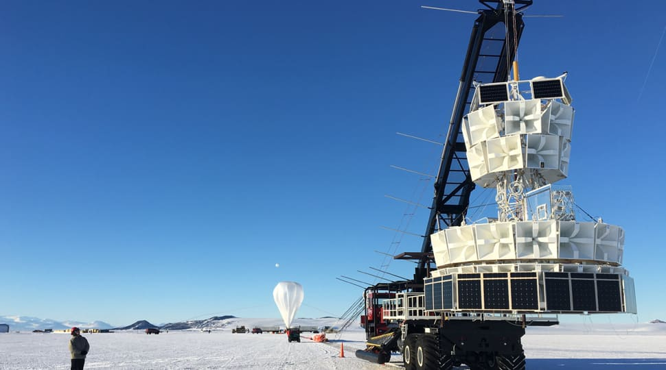 What is Antarctic Impulsive Transient Antenna (ANITA) which found evidence of a parallel universe