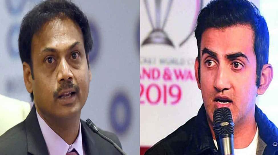Gautam Gambhir, MSK Prasad engage in heated argument over Ambati Rayudu's World Cup omission