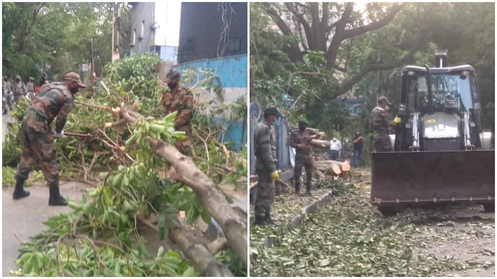 Indian Army deploys 5 columns to aid West Bengal after Cyclone Amphan wreaks havoc