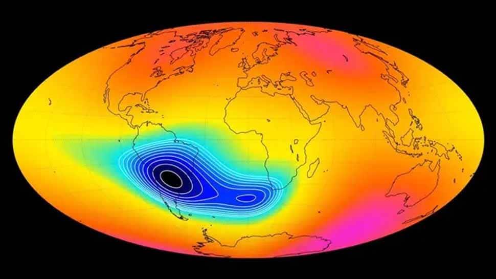 Earth's weakening magnetic field impacts satellites, spacecraft: Report