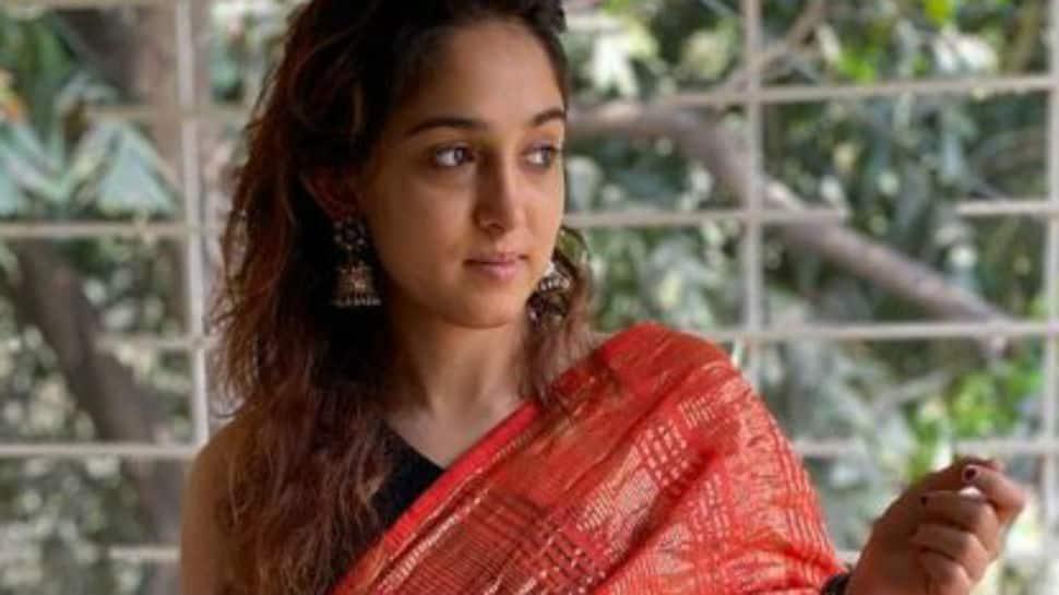 Pics: Aamir Khan's daughter Ira drapes a pretty sari for Eid, a gift by Kiran Rao