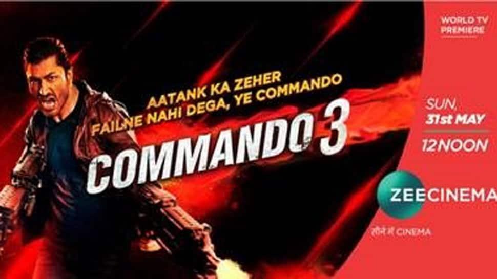 World TV Premiere of Vidyut Jammwal's 'Commando 3' on Zee Cinema