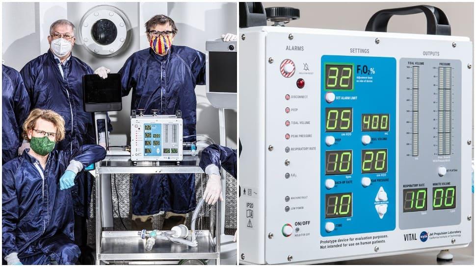 NASA selects 3 Indian companies to make COVID-19 ventilators