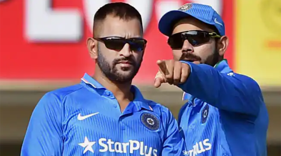 Virat Kohli credits Mahendra Singh Dhoni for grooming him to take up captaincy