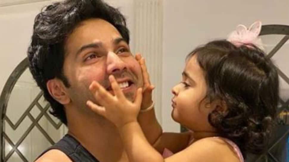 Adorable pics from Varun Dhawan's niece Niara's birthday celebrations