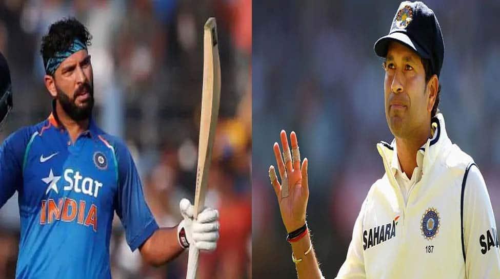 Yuvraj Singh challenges Sachin Tendulkar to break his record of 100 in kitchen