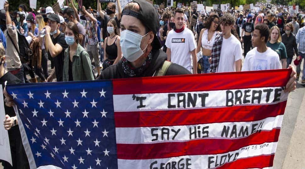George Floyd`s death:  US President Donald Trump pledges to deploy Army as protests continue