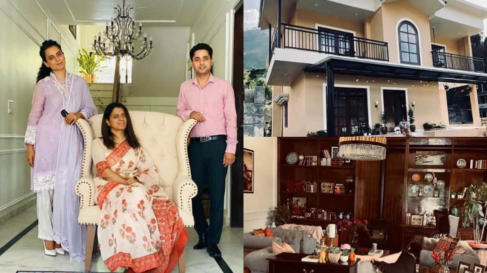 Step inside Kangana Ranaut's sister Rangoli Chandel's super luxurious house in the lap of Himalayas