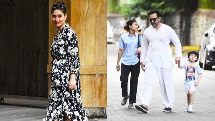 As lockdown restrictions ease, Kareena Kapoor, Saif Ali Khan, Taimur and other Bollywood stars take over Mumbai