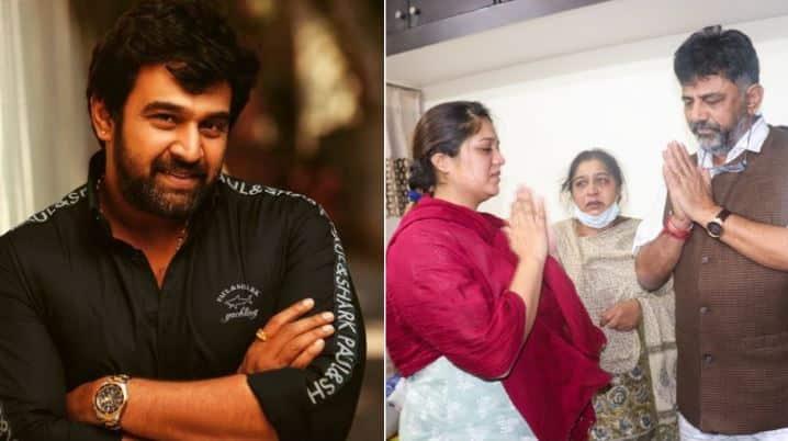 Kannada star Chiranjeevi Sarja's last rites performed; Rashmika Mandana, Prithviraj and others mourn him