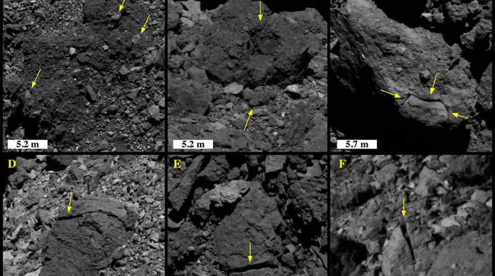 Sunlight can crack rocks on asteroid Bennu, reveal OSIRIS-REx images