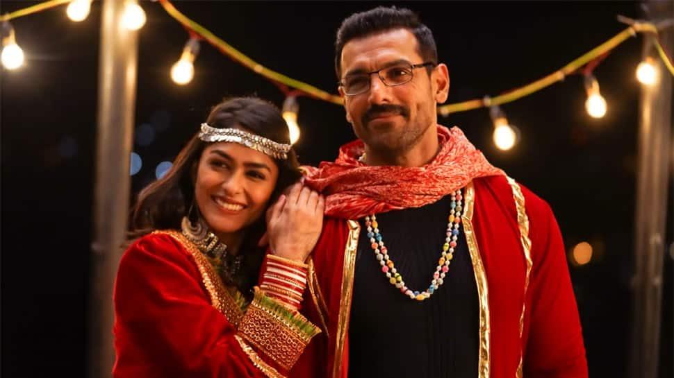 John Abraham-Mrunal Thakur groove to Dhvani Bhanushali's 'Gallan Goriyan' party song - Watch teaser