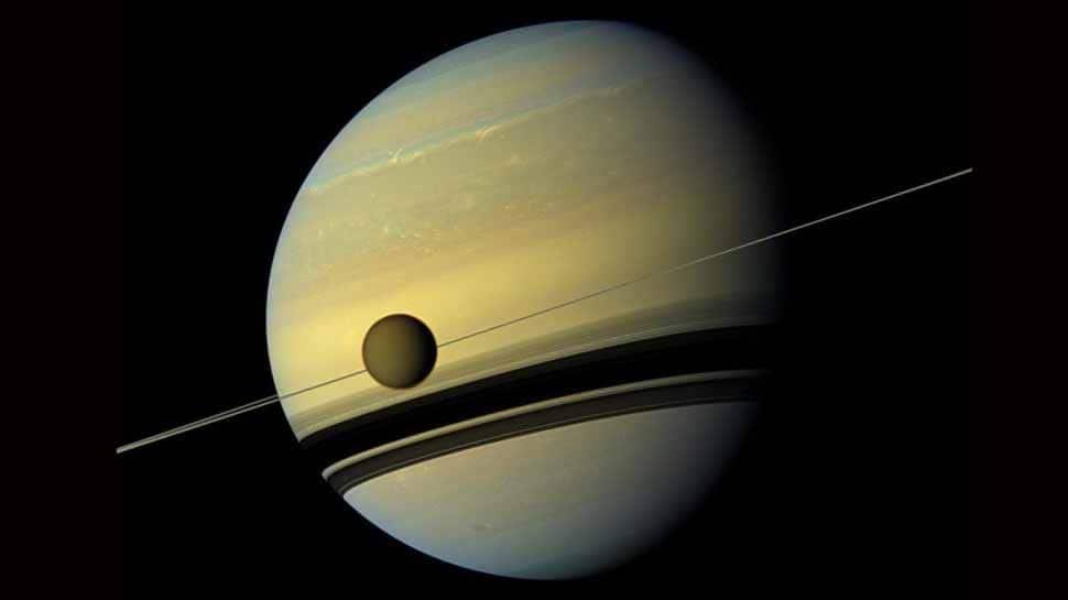 Saturn's Moon Titan drifting away faster than previously predicted: NASA research