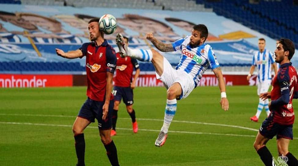 Real Sociedad Held 1 1 By Osasuna In La Liga Clash Football News Zee News
