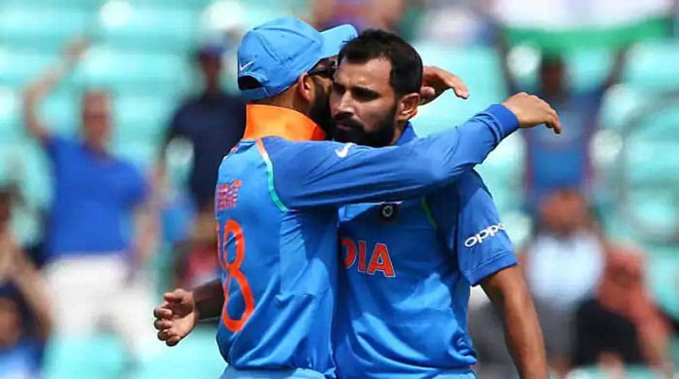 We approach Virat Kohli to help decide on new ball bowlers, says Mohammad Shami