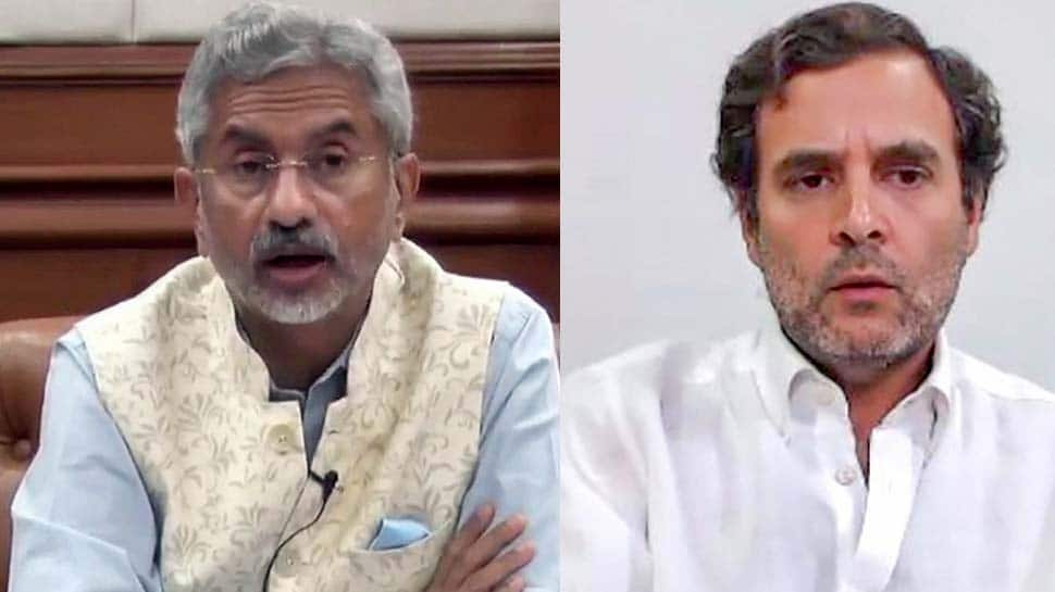 Indian troops on border duty always carry arms: EAM S Jaishankar rectifies Rahul Gandhi after his comment on Galwan Valley standoff