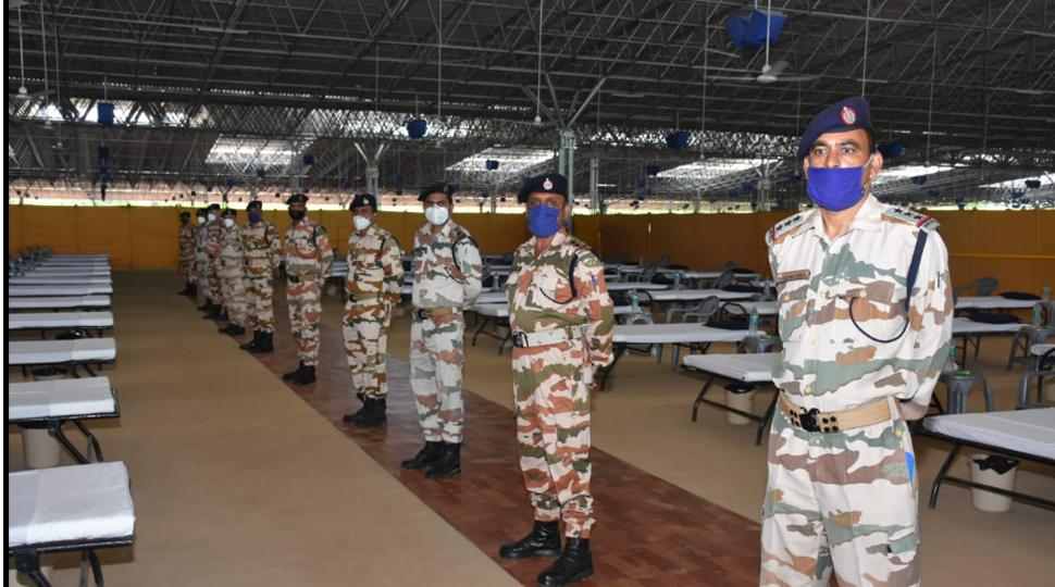 ITBP takes over Delhi's largest Covid Care Centre at Radha Soami Satsang Beas